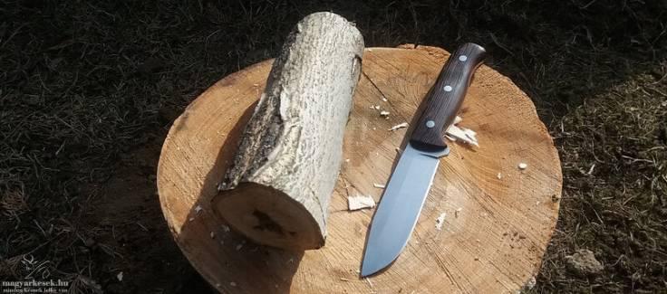 Borbély Szabolcs túra vadász kés