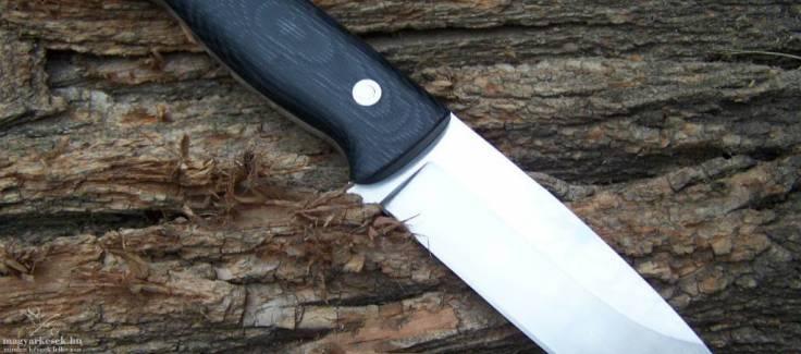 Német László Shaman workshop Bozótműves kés