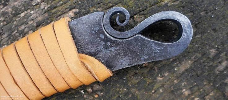 Zsinkó István abajgató kés